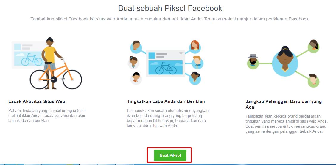 Buat Sebuah Piksel Facebook
