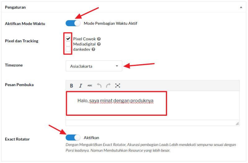 Cara Membuat Campaign Rotator WhatsApp dan Rotator Link : Dokumentasi  Theme.id